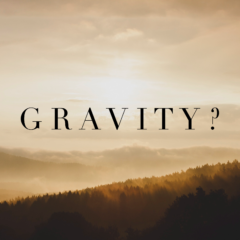 How can I reduce anxiety and stress, and what does gravity have to do with it?